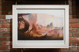 "Large Framed Art - 24x18"" No Man's Valley"