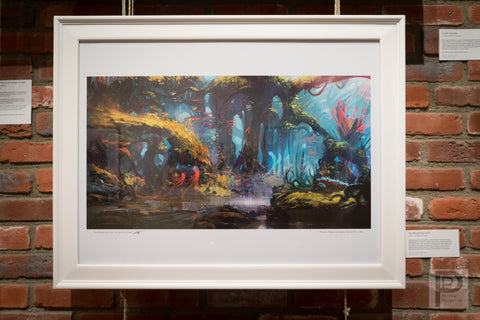"Large Framed Art - 24x18"" The Whispering Forest"