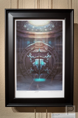 "Large Framed Art - 11x17"" Dice Room: Dark"