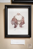 "Large Framed Art - 8.5x11"" Dwarf"