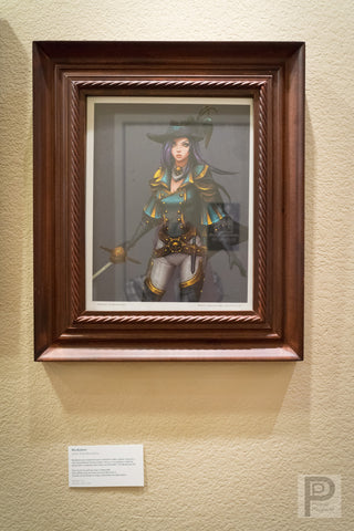 "Large Framed Art - 14x11"" Musketeer"