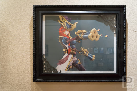 "Large Framed Art - 20x16"" Captain Fortune"