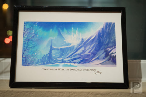 "Framed Art - 5x7"" Frostbreeze II"