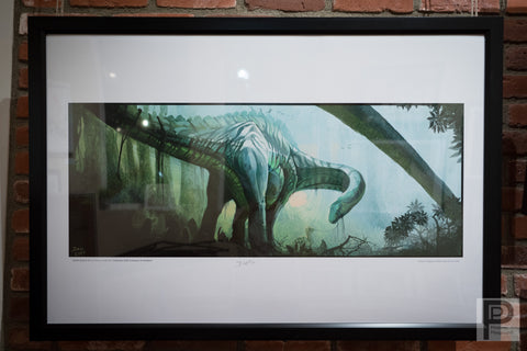 "Framed - 24x36"" Gentle Giant 01d"