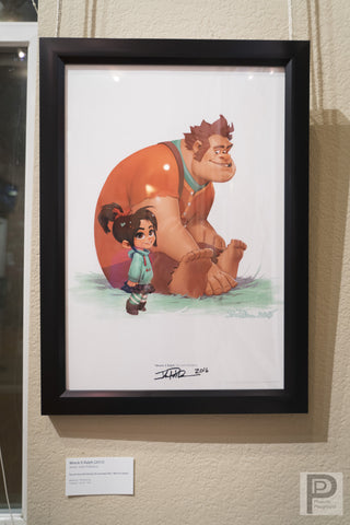 "Framed - 13x19"" Wreck It Ralph"