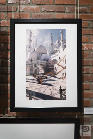"Framed -18x24"" Fantasy Mosque"