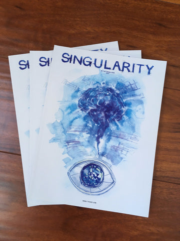 Book - Singularity (Watercolor Graphic Novel)