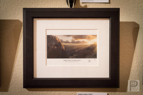 "Framed Art - 10x8"" Hidden Valley"