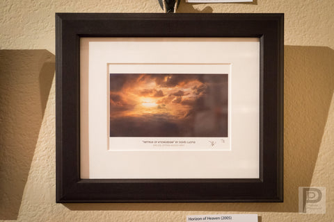 "Framed Art - 10x8"" Horizon of Heaven"