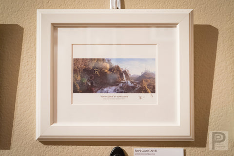 "Framed Art - 10x8"" Ivory Castle"