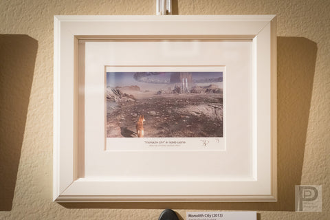 "Framed Art - 10x8"" Monolith City"