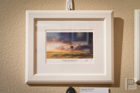 "Framed Art - 10x8"" Skyward Life"
