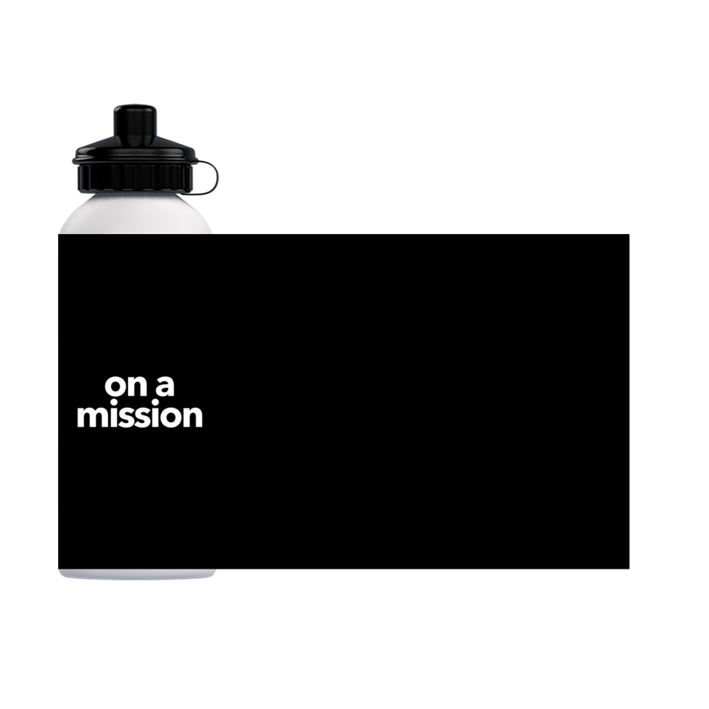 On A Mission Water Bottle