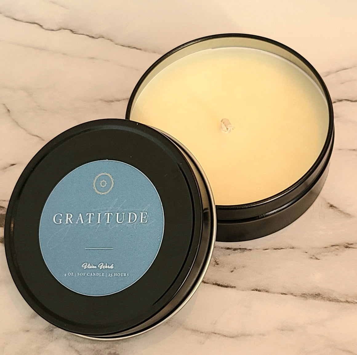 GRATITUDE  4 oz Luxury Soy Candle