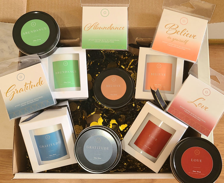 Luxury Soy Candle Deluxe Box Gift Set