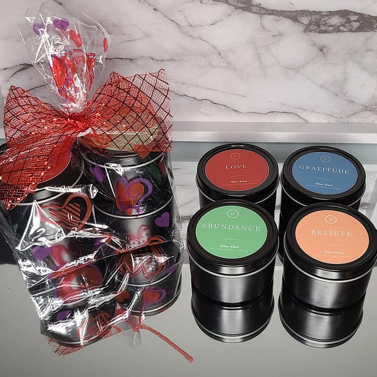 Valentine's Travel Candle Gift Set