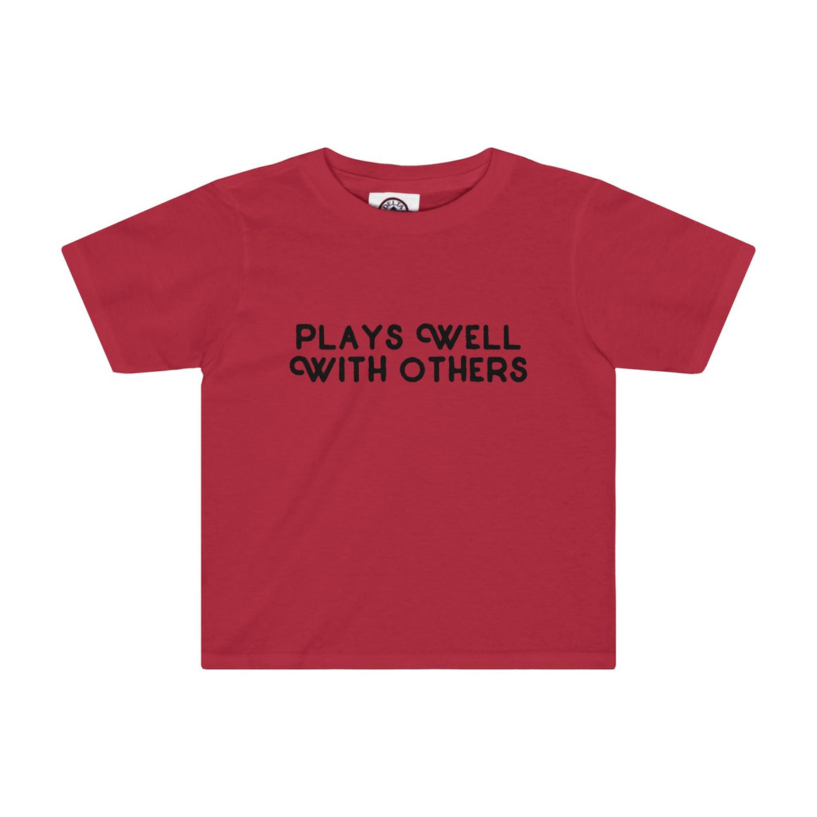 Plays Well With Others Kids Tee