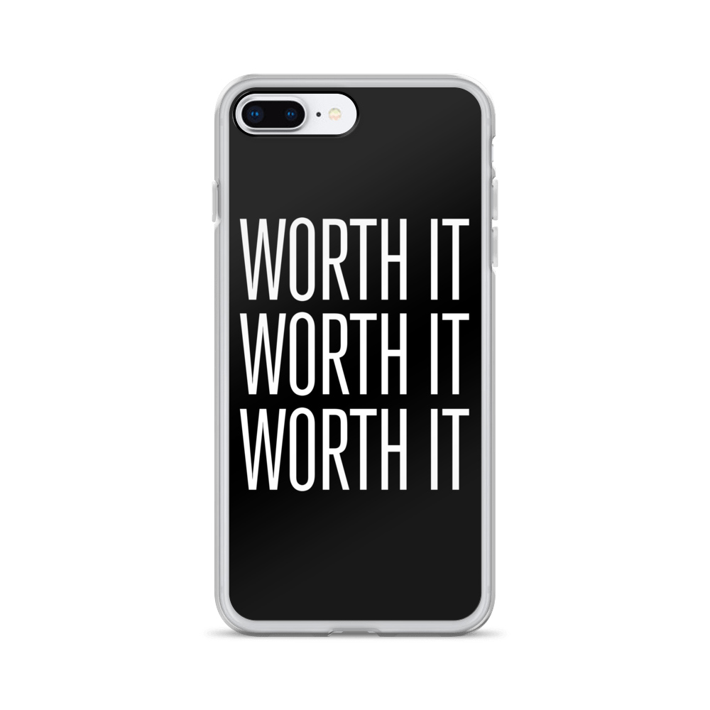 Worth It iPhone Case