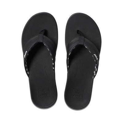 REEF WOMENS ORTHO COAST - BLACK