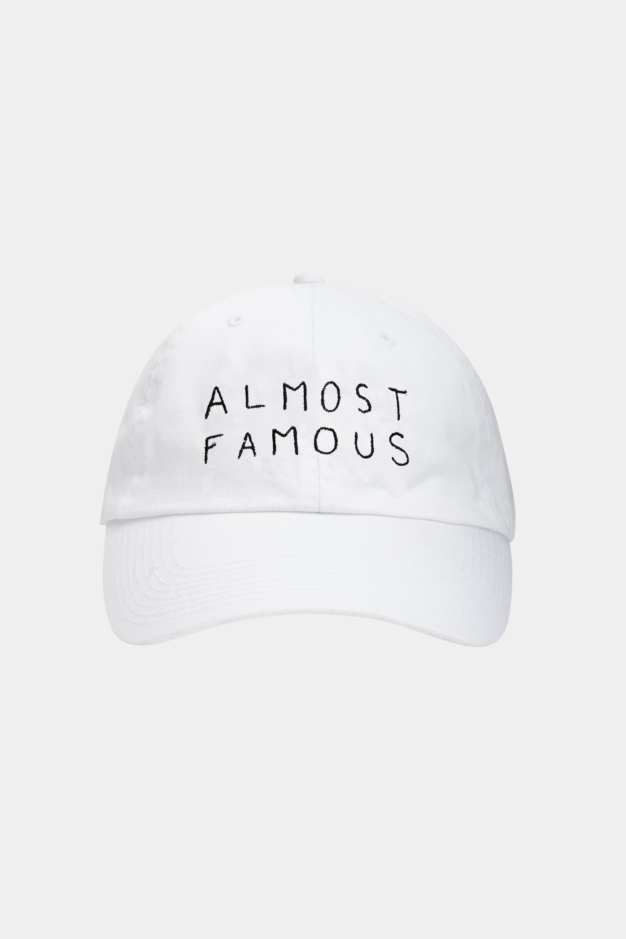 ALMOST FAMOUS CAP (WHITE)