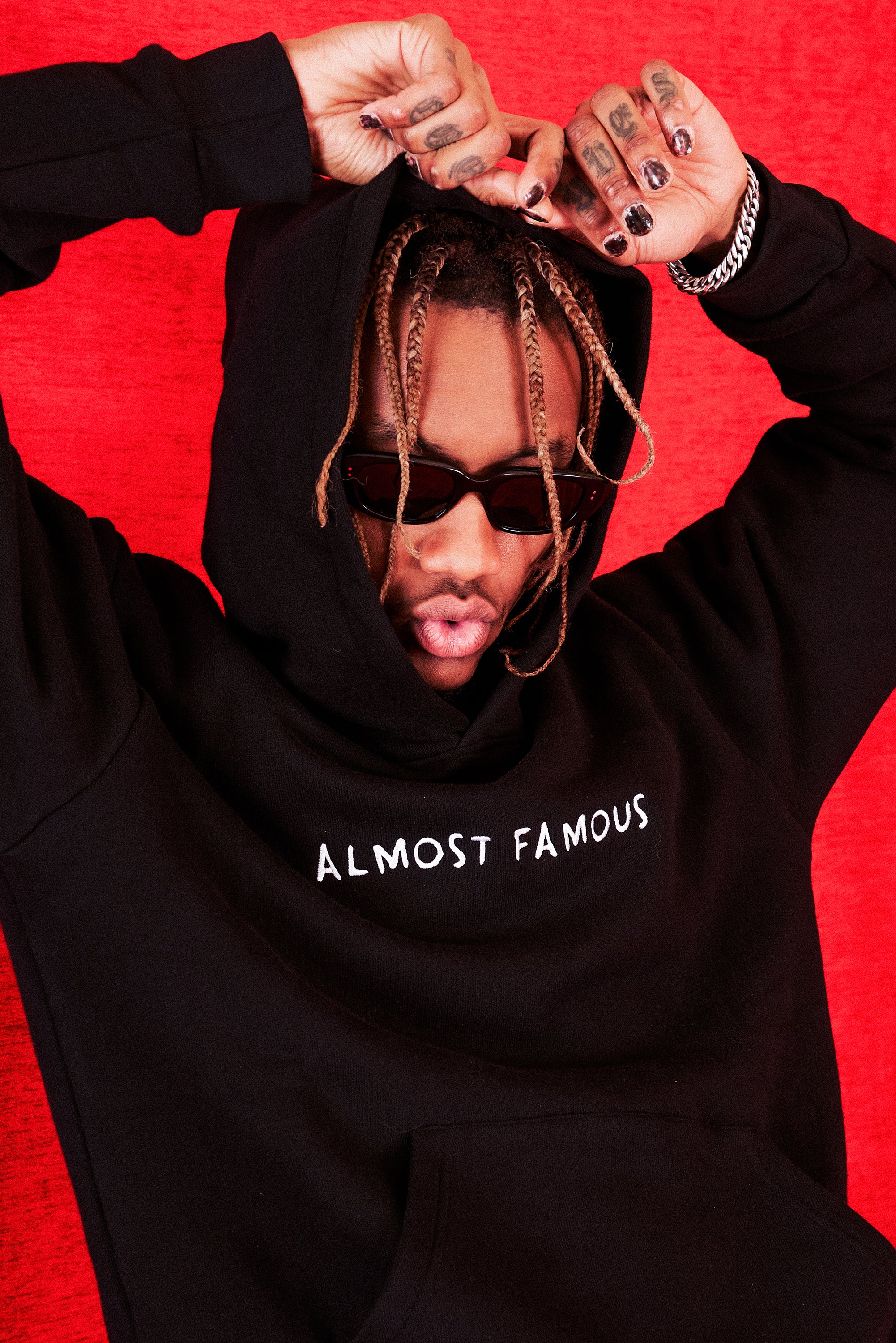 ALMOST FAMOUS HOODIE