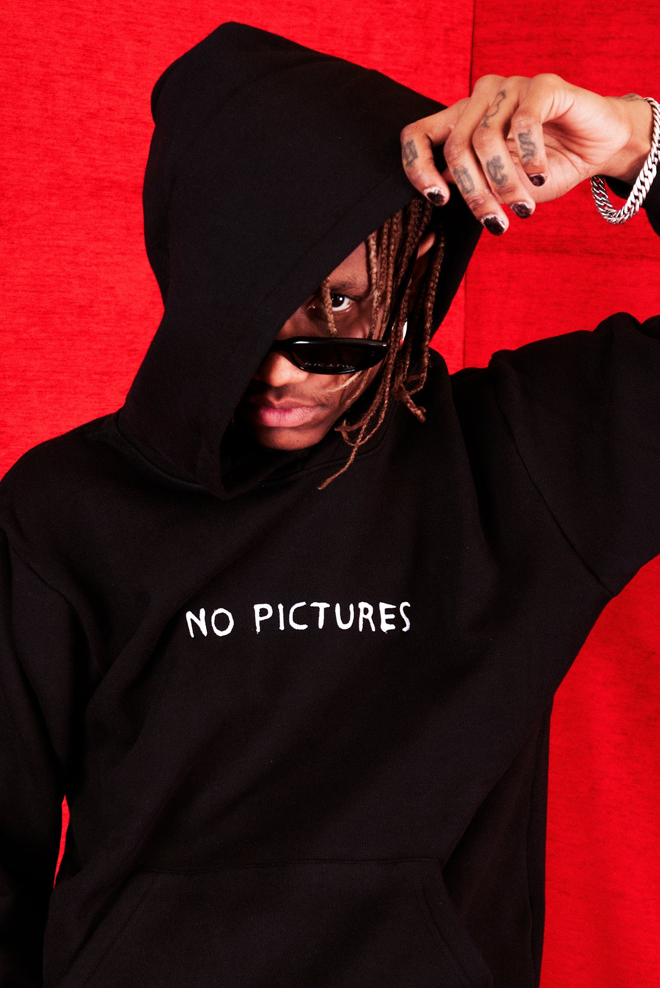 NO PICTURES HOODIE