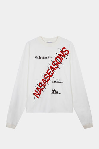 AMERICAN STORY LONG SLEEVE WHITE