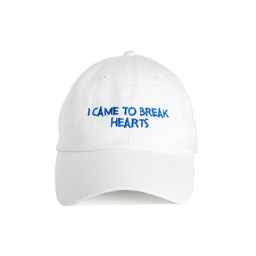 I CAME TO BREAK HEARTS™ (WHITE/BLUE)