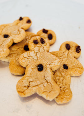 Gingerbread Man Cookies (shipping)