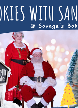 New! Cookies with Santa (Friday, Dec 18)