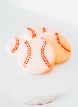 Iced Baseball Cookie (shipping)