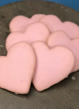 Iced Heart Cookies
