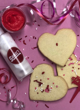 Valentine's Cookie Decorating Kit {DIY at Home!} (SHIPPING)