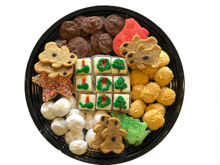 White Christmas Party Tray
