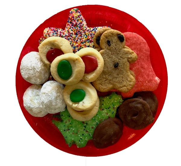 Santa's Cookie Tray