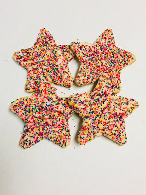 Christmas Star Cookies (shipping)