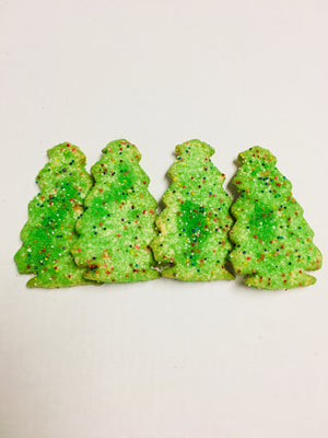 Christmas Tree Cookies (shipping)