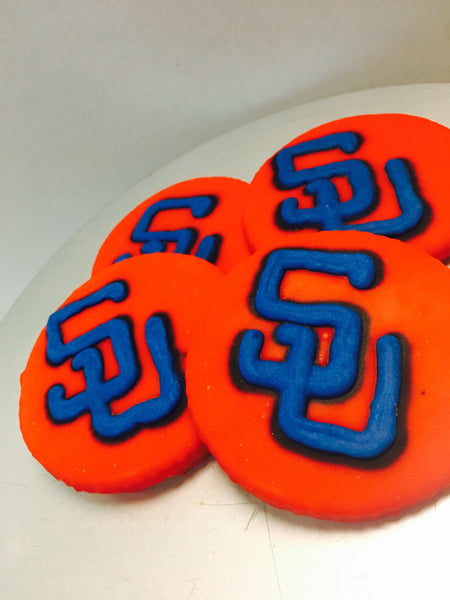 Iced Samford Cookie