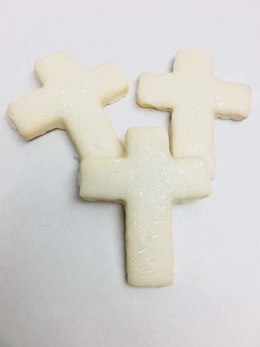 Iced Cross Cookies