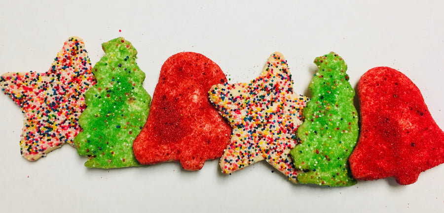 Assorted Christmas Sugar Cookies