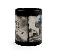 Scary Stories to Tell in the Dark: Skull Pipe (11oz Black Mug)