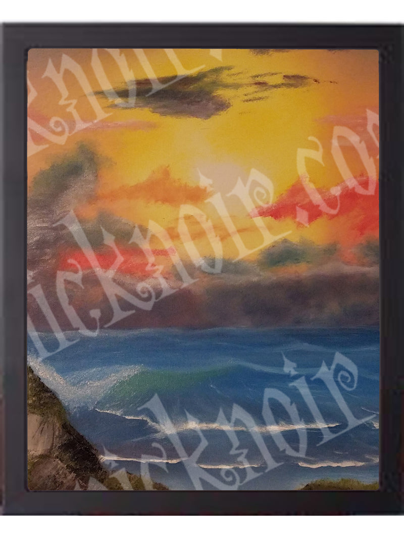 Sunset Beach Poster