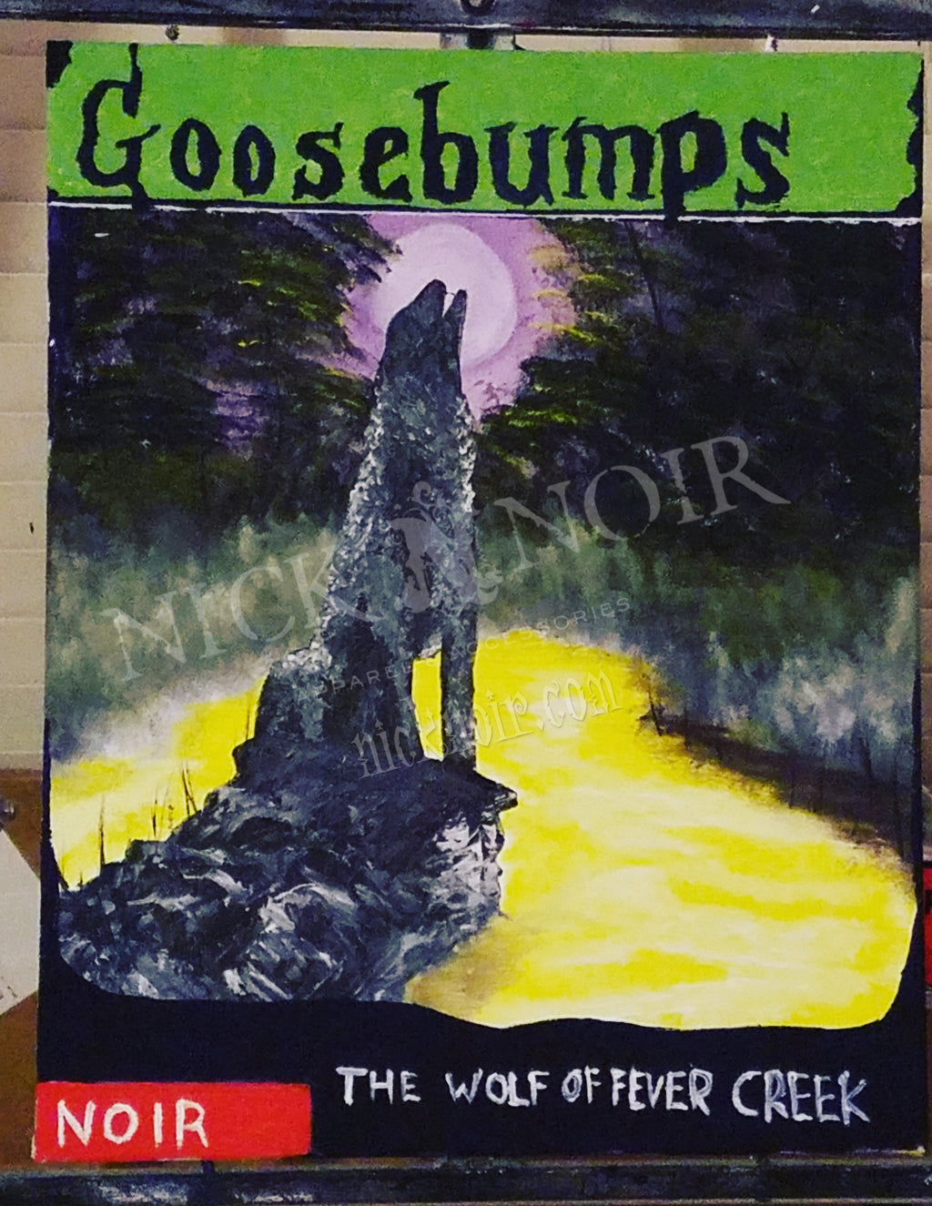 "Goosebumps: ""The (Were)Wolf of Fever Creek"""