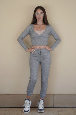 Comfy Fit Grey