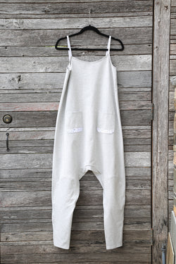 Grey Jumpsuit Drops
