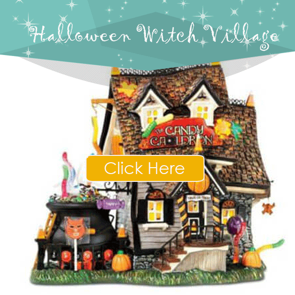 Halloween Witch Village
