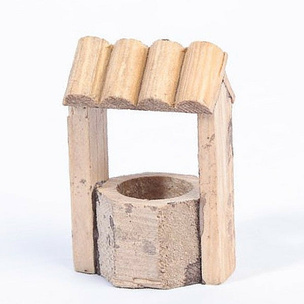 All Wood Wishing Well | Teelie's Fairy Garden Store