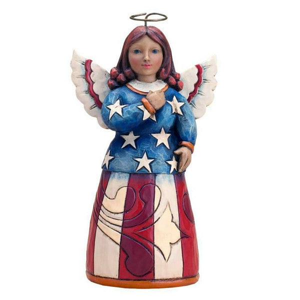 Angel of Patriotism | Teelie's Fairy Garden Store