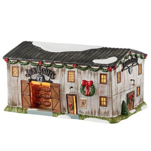 Barrel Ornaments No. 7 Lit House | Teelie's Fairy Garden Store