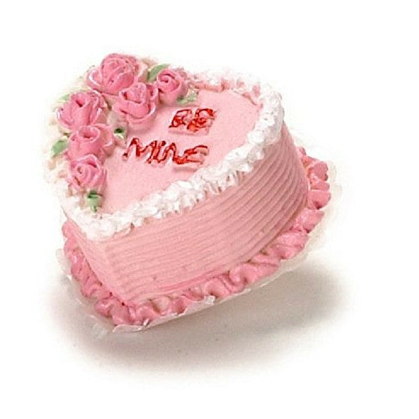 Be Mine Heart Cake | Teelie's Fairy Garden Store